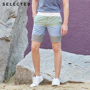 SELECTED思莱德C|4192SH508男士休闲直筒短裤 224.5元