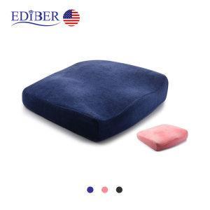 美国艾蒂宝 办公/驾车两用 高科技0压力 温感记忆棉坐垫  208元包邮