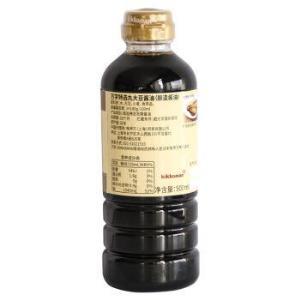 日本进口龟甲万万字特选丸大豆酱油酿造酱油500ml*3件+凑单品 69.2元(合23.07元/件)