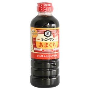日本进口龟甲万万字甜口酱油酿造酱油500ml 39.8元