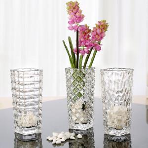 法兰晶TM15玻璃花瓶15*6cm3只装 19.5元包邮(需用券)