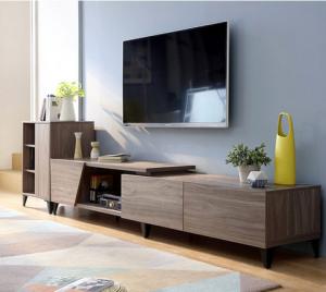 林氏木业DV2M电视柜+茶几+边柜1370元