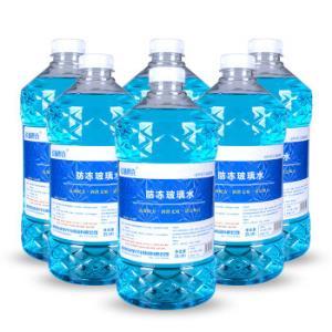 长城世喜汽车防冻玻璃水-25℃2L升级版6瓶装*12件 89.6元(合7.47元/件)