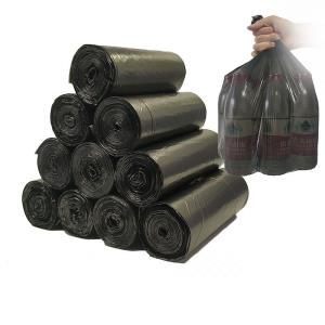 唐家家垃圾袋家用加厚黑色平口 100只 ¥4.8