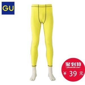 GU极优GS316638男装运动紧身裤 39元