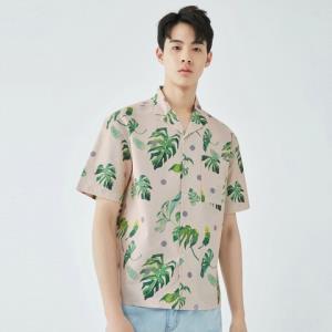 GXG男士休闲印花短袖衬衫 189元