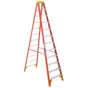 稳耐(werner)梯子3.6米人字梯6212CN 3079元
