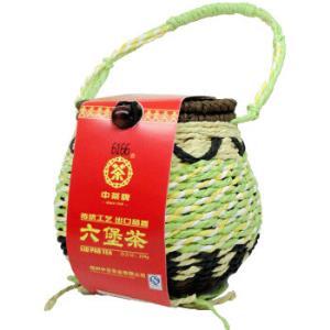 中粮中茶牌梧州六堡茶黑茶6166箩装窖藏珍品一级散茶250g 69元(需用券)