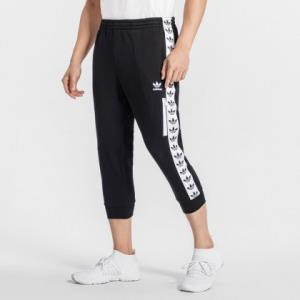 Adidas三叶草男款串标LOGO运动七分裤 209元