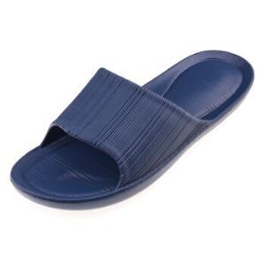 御乐情侣款简约居家软底沙滩洗澡凉拖鞋YT2003蓝色43/44 6.93元