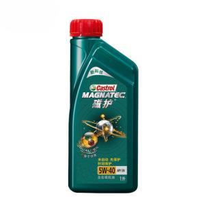 嘉实多机油天猫养车新磁护正品5W40SN级1L全合成汽车润滑油 70元