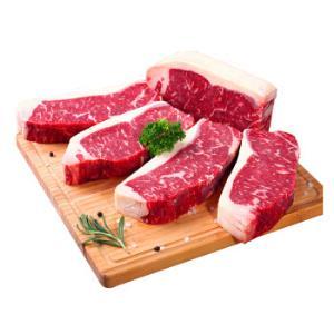 ABERDEENBLACK西冷牛排1kg(5片) 139.9元