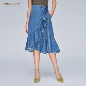 MISSSIXTY692KJ1050000女士牛仔半身裙 1318元