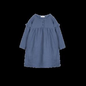 女童亚麻连衣裙4-16岁    64.5元