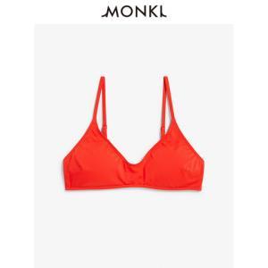 MONKI0585329女士三角比基尼上装可拆卸胸垫 40元