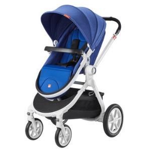 婴儿推车高景观童车宝宝可坐可平躺双向避震折叠BB轻便手推车GB08深海蓝(GB08-F-R402BB)    1299元