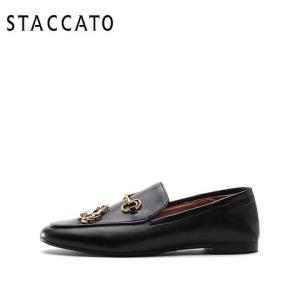 STACCATO思加图9D942CM8女士乐福鞋 398元