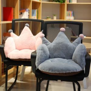 办公室椅垫防滑靠垫毛绒连体加厚学生座垫宽40高40长55厘米 43.9元