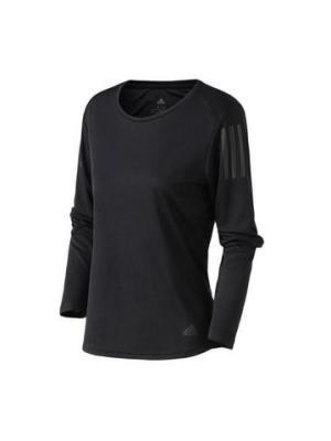 adidas女服长袖T恤跑步健身运动服DQ2616LDQ2616黑色 149元