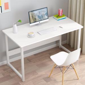 众淘电脑桌书桌台式家用现代简约简易办公桌写字桌子白柳木色 89.9元