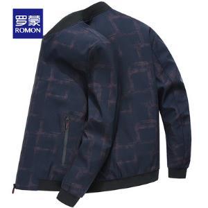 Romon罗蒙 秋冬季青年男士休闲夹克外套JK19HF72031 包邮 券后99元