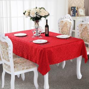 酒店桌布布艺圆形餐桌布饭店餐厅家用台布定制欧式方桌大圆桌桌布 5.9元(需用券)