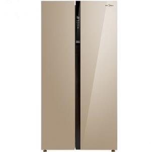 Midea美的BCD-621WKPZM(E)621升变频对开门冰箱 3199元包邮