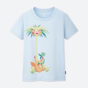 女装(UT)UTGP2019Pokémon印花T恤(短袖)422650优衣库UNIQLO 59元
