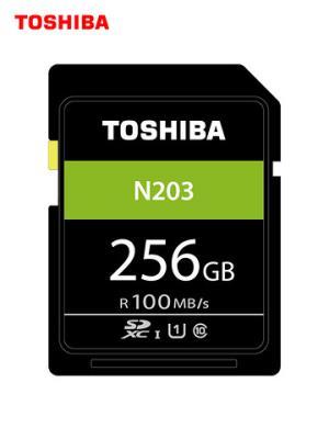 TOSHIBA东芝N203SDXCUHS-IU1C10SD存储卡256GB 349元(需用券)