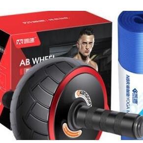 KANSOON凯速健身三件套健腹轮俯卧撑瑜伽垫套装49元(需用券)