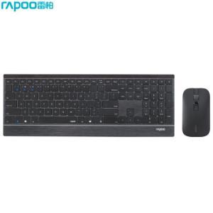 雷柏(Rapoo)9500M键鼠套装无线蓝牙键鼠套装办公键盘鼠标套装超薄键盘蓝牙键盘无线键盘黑色249元