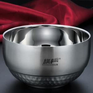 304不锈钢碗双层隔热13cm 21.9元