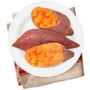 雪人兄弟福建漳州六鳌小红薯3斤农家沙地甜红蜜薯新鲜地瓜小番薯13.9元