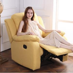 苏宁SUPER会员:SLEEMON喜临门悦活派手动单人位沙发懒人躺椅 1299元包邮(需用券)
