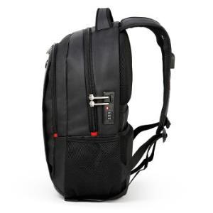 CROSSGEAR电脑包14/15.6英寸男商务双肩包大容量旅行背包防泼水学生书包CR-9002I黑色*3件 265.59元(合88.53元/件)