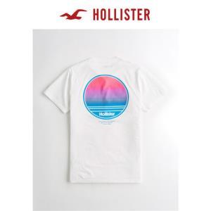 Hollister2019年夏季新品Logo图案潮流短袖T恤男259127-2 89元