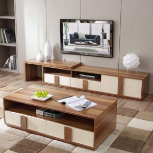林氏木业CP1M现代茶几电视柜组合 1499元
