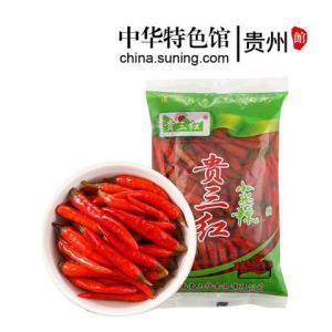 中华特色贵州馆红小米辣椒100g泡椒辣椒调味品西南特产 1.9元