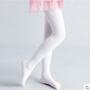 儿童连裤袜白色春秋款女童舞蹈袜连体袜夏季薄款袜子练功宝宝丝袜 券后12.9元