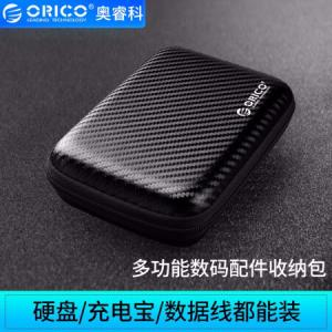 ORICO奥睿科PHM-252.5英寸移动硬盘保护包黑色*2件 23.6元(合11.8元/件)