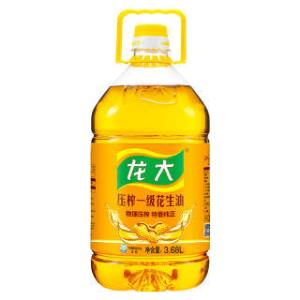 龙大 压榨一级 食用油 特香花生油 3.68L *2件  143.82元(合71.91元/件)