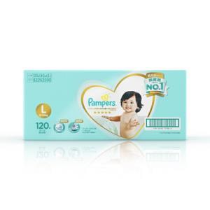 Pampers帮宝适一级系列婴儿纸尿裤L120片*2件 388.7元包邮(合194.35元/件)
