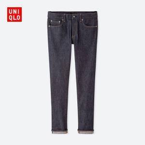 男装弹力修身牛仔裤414655优衣库UNIQLO 199元