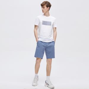 男式全棉HelloWorld短袖T恤衫 49.5元