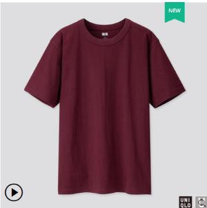 UNIQLO优衣库419571男士圆领T恤 79元