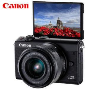 佳能(Canon) EOS M100 无反相机套机(EF-M 15-45mm) 2699元