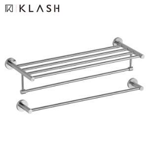 Klash佳勒仕卫浴五金套件304不锈钢拉丝挂件套装毛巾架浴巾架组合套装 198.9元