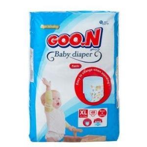 GOO.N大王环抱贴身系列短裤式纸尿裤XL48片*2件 138.1元(需用券,合69.05元/件)