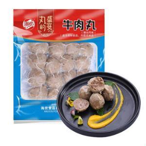 海欣牛肉丸250g火锅食材火锅丸子烧烤丸串买一赠一9件134.2元*9件 134.2元(合14.91元/件)