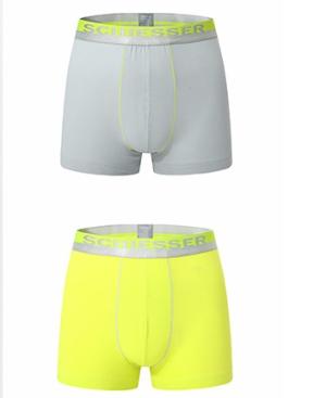 17号:SCHIESSER舒雅E5/13977T男士内裤2条装*3件 196.35元(合65.45元/件)